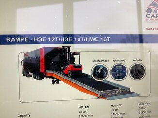 Laderampe GS International HWE16T - 3
