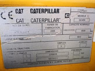 4-Rad Gabelstapler Caterpillar GC45 - 5