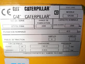 4-Rad Gabelstapler Caterpillar GP25N - 7